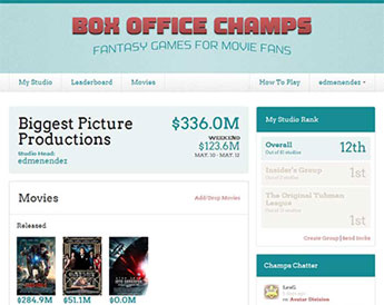 Box Office Champs Launches